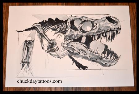 Tattoos - T Rex - 98915
