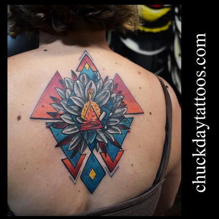 Tattoos - Saguara Cactus Flower - 94438