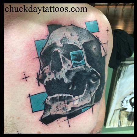 Tattoos - Skull squared - 112464