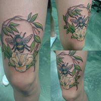 Tattoos - Bee doing what bees do!  - 131317