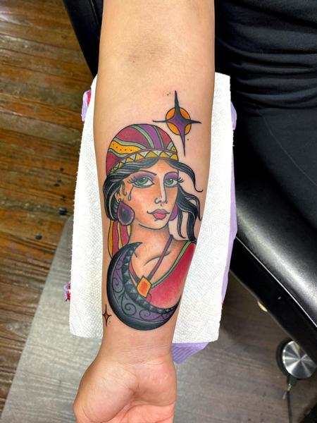 Tattoos - Traditional Gypsy - 142731