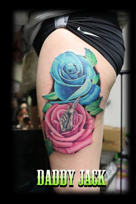 Tattoos - Roses - 132387