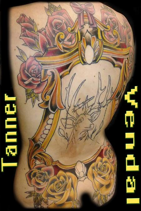 Tattoos - Custom Back Piece - 130999