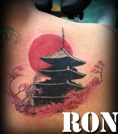 Ron Goulet - Asian temple