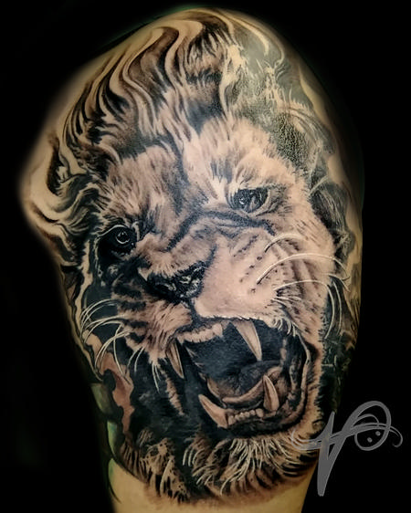 Tattoos - Strength of a Lion - 137887