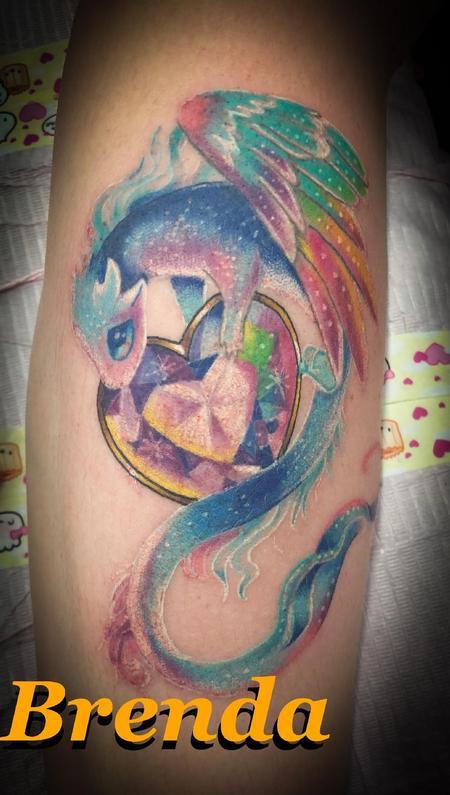 Tattoos - Rainbow Dragon - 138548
