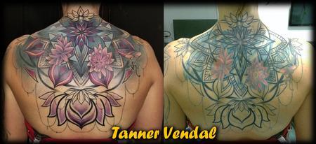 Tattoos - Ornamental BackPiece CoverUp TannerVendal - 133732
