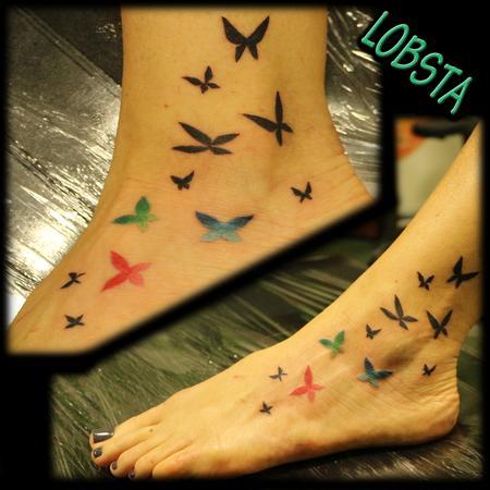 Tattoos - Butterflies - 131294