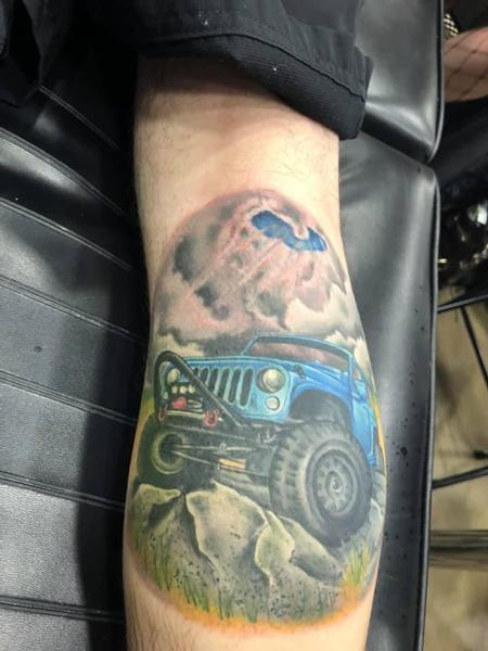 Tattoos - Jeep Scene - 139177