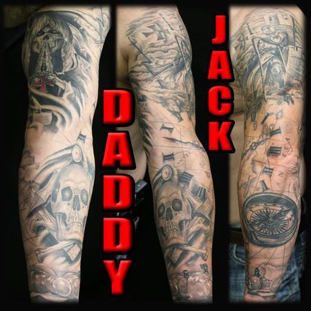 Tattoos - Fully Healed Sleeve - 131057