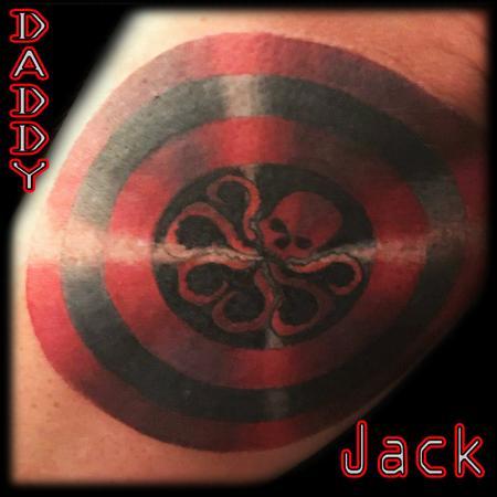 Tattoos - Hydra Shield - 130889