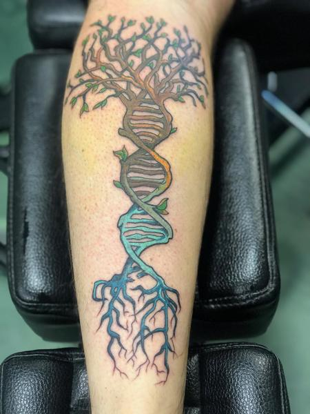 Tattoos - DNA Tree - 139876