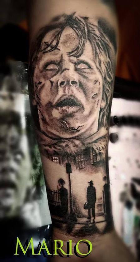 Mario Padilla - Exorcist forearm piece