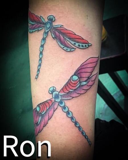 Tattoos - Dragonflies - 137800
