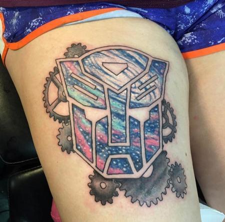 Tattoos - Autobot w/Gears - 139443