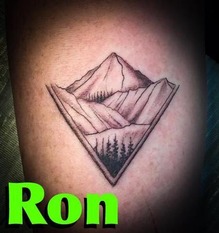 Tattoos - Mountain Scene - 139021