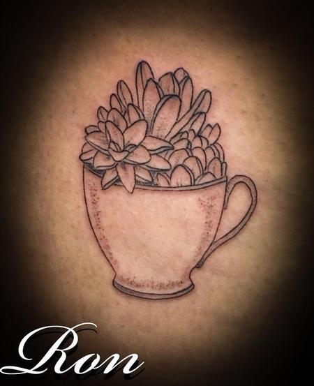 Tattoos - Succulent - 138056