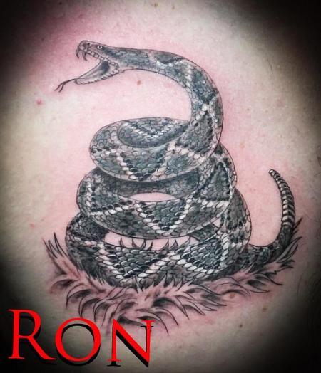 Tattoos - Don't Tread on Me Rattlesnake - 137796