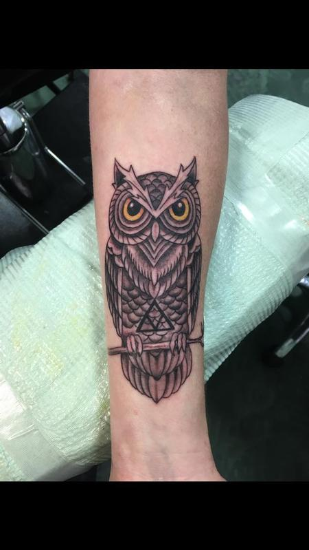Tattoos - Owl - 140289