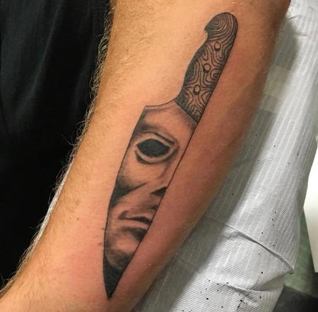 Tattoos - Michael Myers Knife - 139890