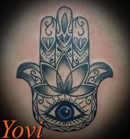 Tattoos - Hamsa Hand - 140291