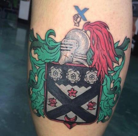 Tattoos - Family Crest - 139893