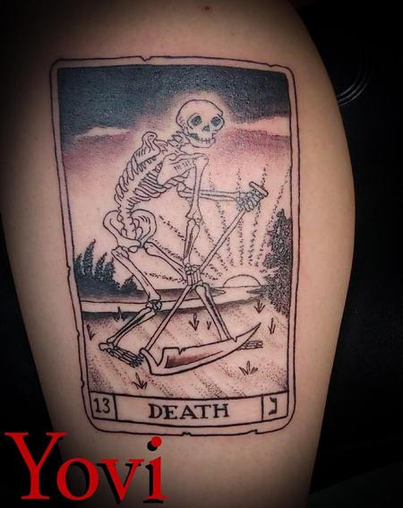 Tattoos - Death Tarot - 138063