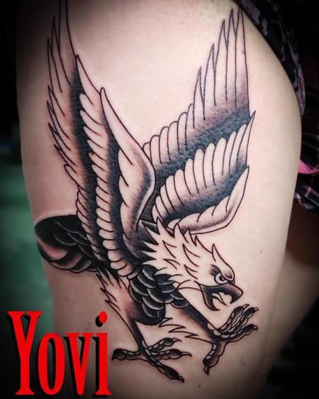Tattoos - Traditional Eagle - 137814