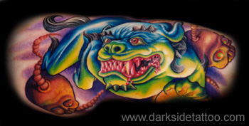 Tattoos - Foo Dog - 3139