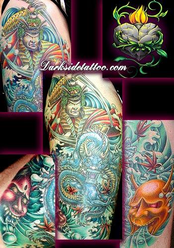 Tattoos - Oriental Tattoo - 3882
