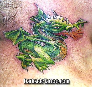 Tattoos - Dragon Tattoo - 4126