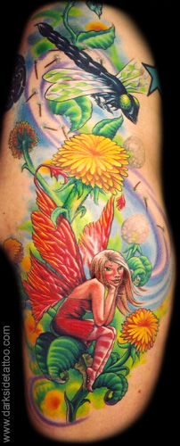 Tattoos - Dandelion Fairy - 3715