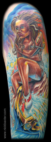 Tattoos - Sailor Girl (Detail) - 4522