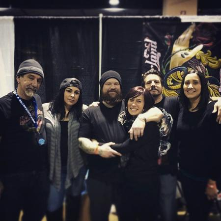 Tattoos - Some of the Crew and Friends at the Philly Show 2015 - 108143