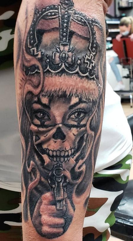 Evil Queen Tattoo Design