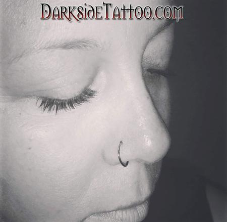 Tattoos - Nostril Piercing - 106235
