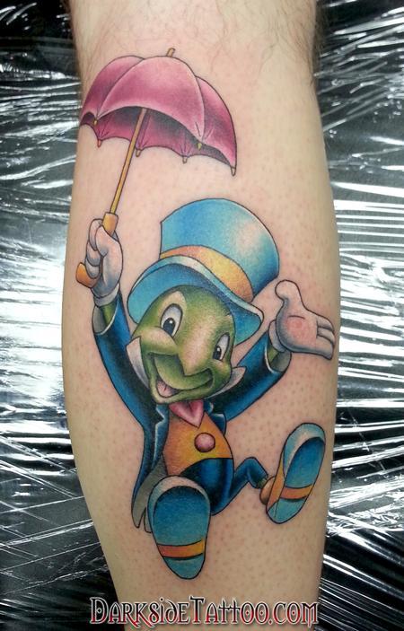Tattoos - Jiminy Cricket - 100754