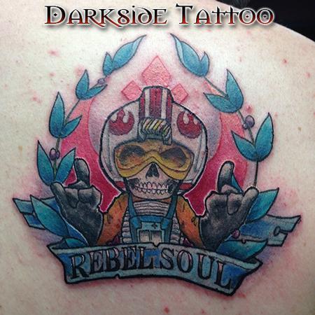 Tattoos - Color Star Wars Rebel Soul Tattoo - 87294