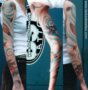 Tattoos - Pixel Sleeve - 2751