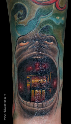 Tattoos - Musicman (Detail) - 4411