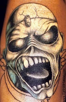 Tattoos - Eddie Piece of Mind - 354
