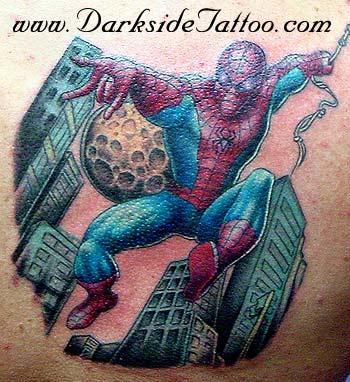 Tattoos - Spidey Re work  - 1961