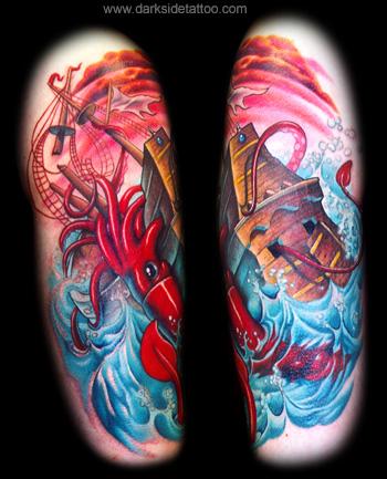 Tattoos - Giant Squid - 3647