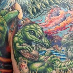 Tattoos - Grateful Dead Alligator - 140632