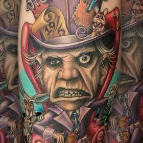 Tattoos - Mad Hatter - 128719