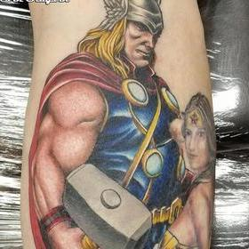 Tattoos - Color Thor Tattoo - 133951
