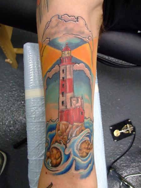 Tattoos - lighthouse - 65662