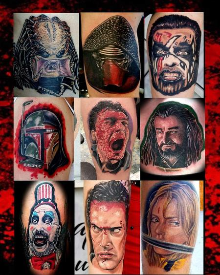 Movie Madness!!!! Tattoo Design