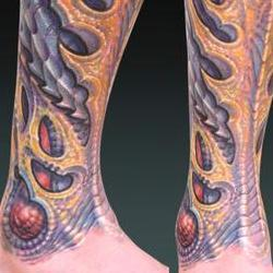 Tattoos - Durb, laser coverup bio - 72526