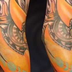 Tattoos - Dan, Collaboration by Markus Lenhard and Guy Aitchison - 72433